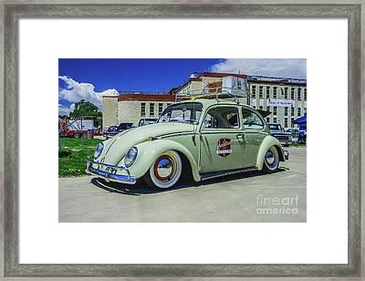 1965 Volkswagen Bug Framed Print