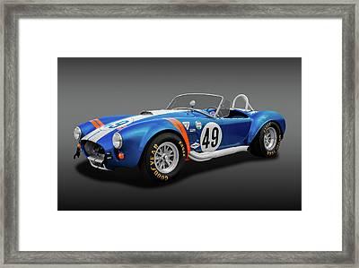 1966 427 Shelby Cobra  -  1966427shelbycobrafa170660 Framed Print