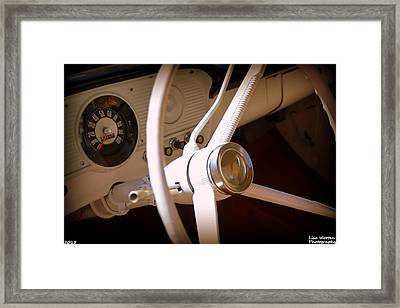 1966 Ford F100 Interior Framed Print