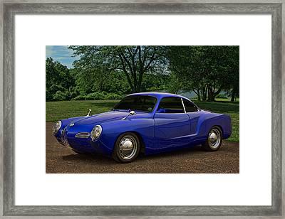 1966 Karman Ghia Framed Print