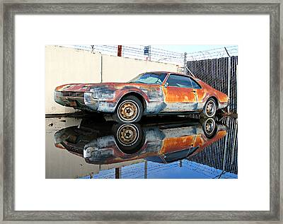 1966 Toronado In Decay  Framed Print