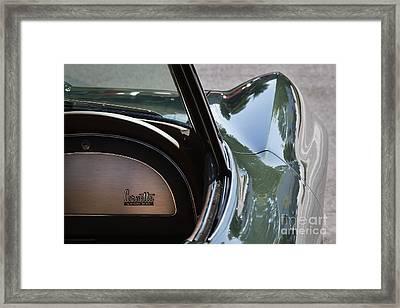 Green 1967 Corvette Framed Print by Dennis Hedberg