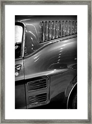 1967 Ford Mustang Fastback Framed Print by Gordon Dean II