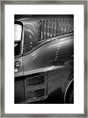 1967 Ford Mustang Fastback Framed Print by Gordon Dean II