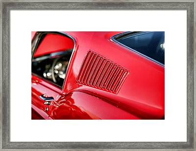 1967 Ford Mustang Gt  Framed Print by Gordon Dean II