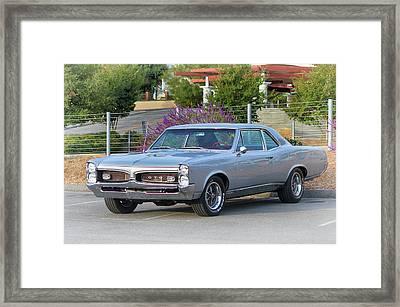 1967 Pontiac Gto Framed Print