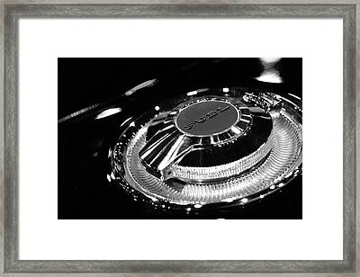 1968 Dodge Charger Fuel Cap Framed Print