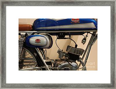 1968 Fb Mondial 48cc Record Sport . 5d16950 Framed Print by Wingsdomain Art and Photography