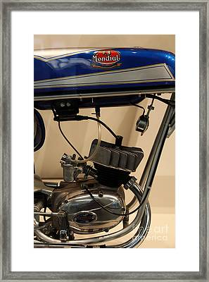 1968 Fb Mondial 48cc Record Sport . 5d17006 Framed Print by Wingsdomain Art and Photography