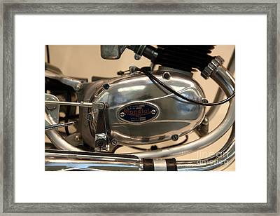 1968 Fb Mondial 48cc Record Sport . 5d17047 Framed Print by Wingsdomain Art and Photography
