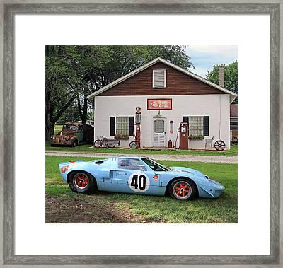 1968 Gulf Mirage In Missouri Framed Print