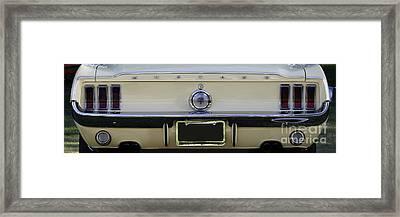 1968 Mustang Gt Fastback Framed Print