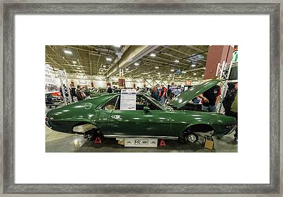 Framed Print featuring the photograph 1969 Amc Amx by Randy Scherkenbach