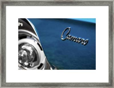 1969 Chevrolet Camaro Z28 Emblem Framed Print
