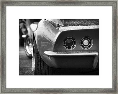 1969 Chevrolet Corvette Stingray Framed Print