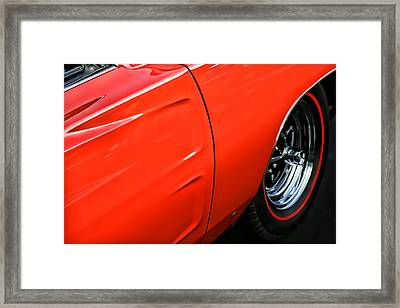 1969 Dodge Charger Rt Framed Print by Gordon Dean II