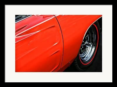 1969 Dodge Charger Stock Car Digital Art Framed Prints