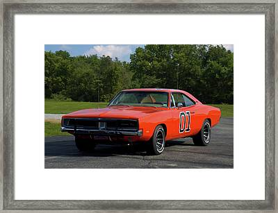 1969 Dodge Charger Rt Framed Print by Tim McCullough