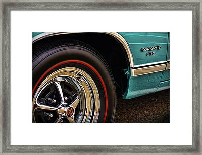 1969 Dodge Coronet 500 Framed Print