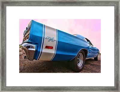 1969 Dodge Coronet Rt Framed Print