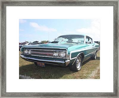 1969 Ford Gran Torino Framed Print by John Telfer