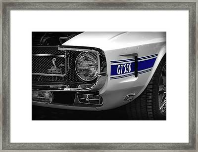 1969 Ford Mustang Shelby Gt350 1970 Framed Print