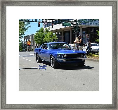 1969 Mach I Dominick Framed Print
