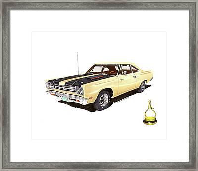 1969 Plymouth Road Runner 383 Framed Print by Jack Pumphrey