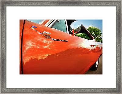 1969 Plymouth Road Runner 440 Roadrunner Framed Print by Gordon Dean II