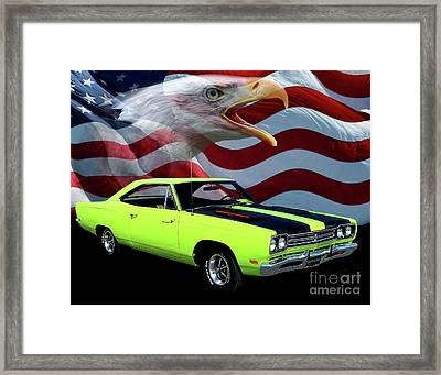 1969 Plymouth Road Runner Tribute Framed Print