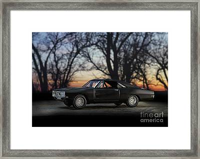 1969 Roadrunner Framed Print