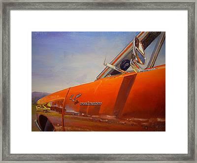 1969 Roadrunner Framed Print by Jody Swope