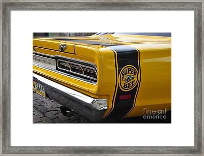 1969 Super Bee Framed Print by David Lee Thompson