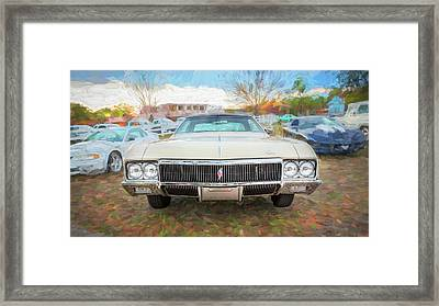 1970 Buick Rivera Framed Print