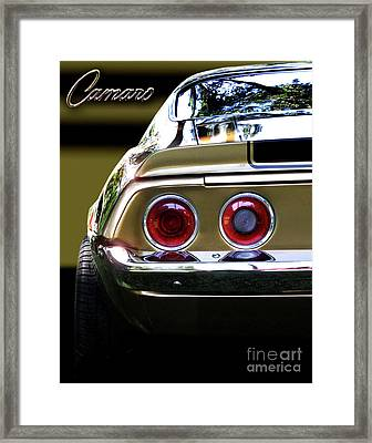 1970 Camaro Fat Ass Framed Print