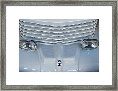 1970 Cord Royale Grille Hood Ornament Framed Print by Jill Reger