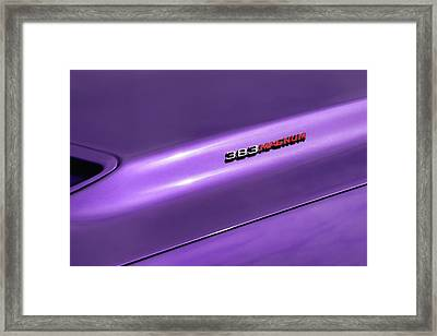 1970 Dodge Challenger Rt 383 Magnum Framed Print by Gordon Dean II