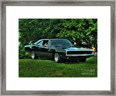 1970 Dodge Charger Framed Print by Larry Simanzik