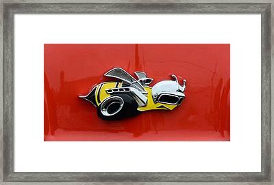 1970 Dodge Super Bee Emblem Framed Print by Paul Ward
