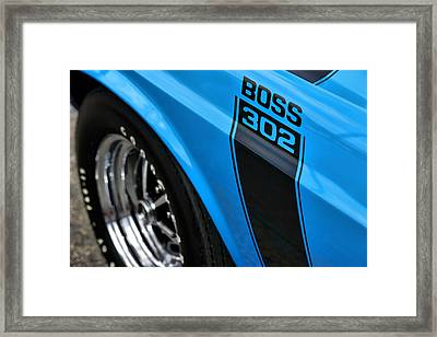 1970 Ford Mustang Boss 302 Framed Print by Gordon Dean II