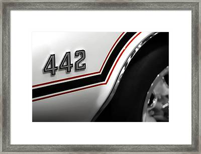 1970 Olds 442 Indy 500 Pace Car Framed Print