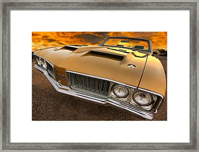 1970 Oldsmobile 442 W-30 Framed Print