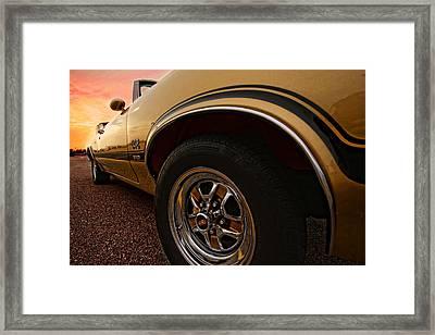 1970 Oldsmobile Cutlass 4-4-2 W-30  Framed Print by Gordon Dean II