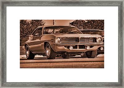 1970 Plymouth Hemi 'cuda Framed Print