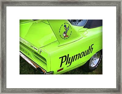 1970 Plymouth Superbird Framed Print by Gordon Dean II