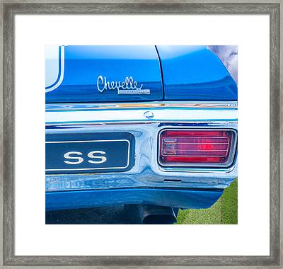 1970 Tailights Framed Print