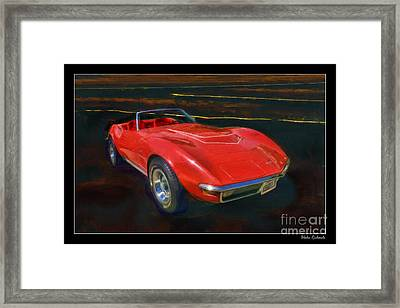 1971 Chevy Corvette Lt1 Framed Print by Blake Richards