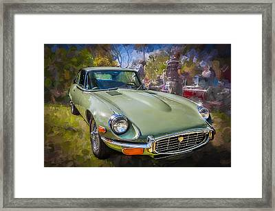 1971 Jaguar 3 Series E Type 2 Plus 2  Framed Print by Rich Franco