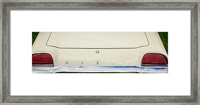 1971 Mazda Cosmo Taillight Emblem -0733c Framed Print