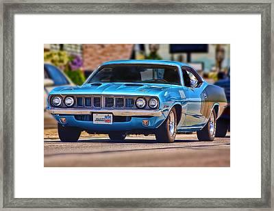 1971 Plymouth 'cuda 383 Framed Print by Gordon Dean II